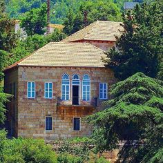 lebanese old house.