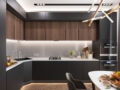 Adventurous decorators can find endless inspiration in dark color schemes, a…