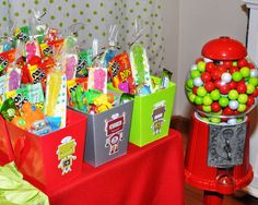 Robots & Rockets Birthday Party Ideas | Photo 2 of 66 | Catch My Party