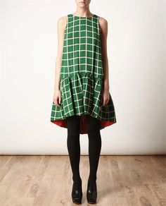 KENZO reversible dress. Absolutely my kind of dress.