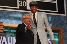 Giannis Antetokounmpo erreicht beste griechische Platzierung beim NBA Draft.