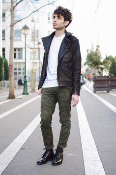 Rock Meilleures Du Biker Images 15 Man Dark Fashion Tableau 7IdnqPH