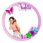 Etiquetas circulares de Violetta
