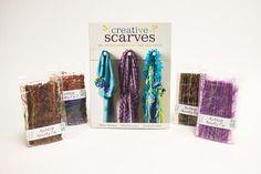 Creative Scarves & Novelty Fibers Giveaway