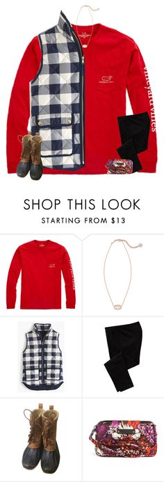 """I HATE FINALS"" by secfashion13 ❤ liked on Polyvore featuring Vineyard Vines, Kendra Scott, J.Crew, Old Navy, Sperry Top-Sider and Vera Bradley"