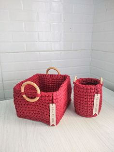 Love Crochet, Crochet Crafts, Crochet Yarn, Crochet Projects, Crochet Basket Pattern, Crochet Patterns, Birthday Gifts For Boyfriend Diy, Crochet Bag Tutorials, Crochet Storage