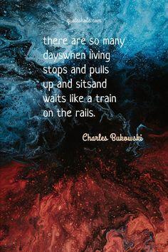 24 Poetry Quotes Of Charles Bukowski