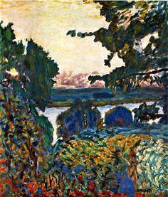 Pierre Bonnard / La Seine à Vernon, 1925