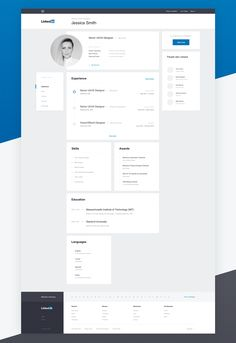 "via Muzli design inspiration. ""Linkedin Redesign Concepts"" is published by Muzli in Muzli - Design Inspiration. Web Design Trends, Web Ui Design, Dashboard Design, Best Web Design, Design Design, Banner Web Design, Layout Design, Web Layout, Profile Website"
