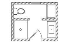 Beautiful 5x7 Bathroom Layout | 5x7 bathroom layout ...