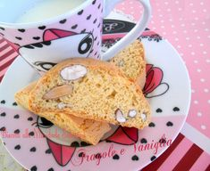 BISCOTTI ALLE MANDORLE SALENTINI French Toast, Tacos, Mexican, Cookies, Breakfast, Ethnic Recipes, Sweet, Desserts, Food