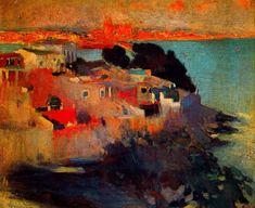"JOAQUIM MIR I TRINXET. (1873 -1940 Barcelona) ""Palma de Mallorca"""