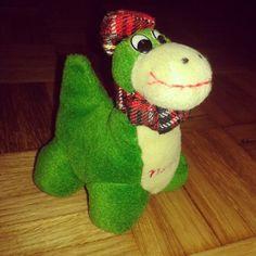 Dicen que solo es una leyenda, pero yo puedo ver a Nessie perfectamente :P #peluches #pelucheando