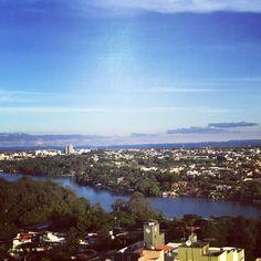 Reunião na Frezarin Escritório Virtual dá direito a esta vista privilegiada da bela Londrina.