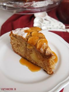 Sweets Recipes, Apple Recipes, Cooking Recipes, Eat Greek, Greek Desserts, Kids Menu, Cupcakes, Sweets Cake, Holiday Cookies