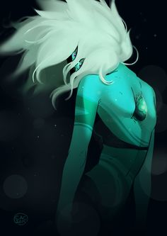 Queer Space Rocks are my aesthetic — devilegg: return to the earth through the water! Malachite Su, Malachite Steven Universe, Steven Universe Fusion, Deviantart, Homestuck, Peace And Love, Cool Art, Earth, Bird