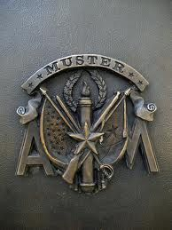 """Aggie Muster, our most solemn tradition at Texas A&M. """"Here."""""""