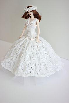 Barbie Wedding Gown Barbie wedding dress Bride by Fashione4Doll