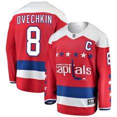 Alexander Ovechkin Washington Capitals Fanatics Branded Youth Alternate  Breakaway Player Jersey - Red 07f91b9c2