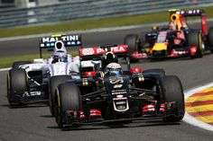 Romain Grosjean brings home the bacon for Lotus @ Spa