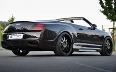 #Bentley continental back side coupe