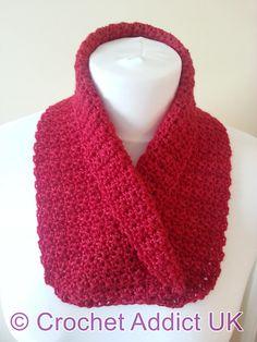 Ravelry: Collared Cowl pattern by Crochet AddictUK