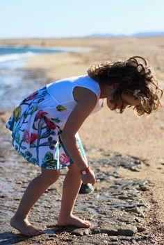 Catimini spring 2015 white sleeveless dress #butterflies #catimini #SS15 #spring #summer #springsummer2015 #childrens #kids #childrenswear #kidswear #kidsfashion #girls #boys