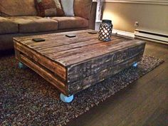 Our new custom coffee table from West Coast Country Designs!  https://www.facebook.com/westcoastcountry