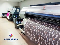 Please see our machines for Sublimation Printing, is one of the most popular processes in the industry , the detail which can be achieved in sublimation printing artwork is unlimited. Basically, the artwork is printed onto paper first, then transfered onto fabric using a heat process.  #manufacturer #barcelos #sweat #colours #tshirt #cotton #comprensa #fashion #model #fashion #design #company #textile #portugal #sublimation #screenprinting #digitalprint #laser #photoprint