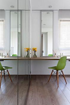 Modern vanity area