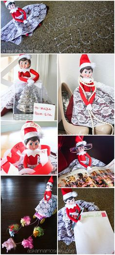 24 {easy} Elf on the Shelf Ideas that your kids will love - Ask Anna