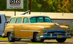 1954 Chrysler New Yorker Station Wagon.