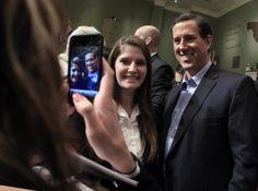 Photo #18 #prezpix #prezpixrs election 2012 candidate: Rick Santorum publication: Los Angeles Times LA Times photographer: Mark Humphrey AP publication date: 2/29/12