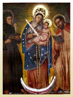 COLOMBIA - Nuestra Señora de Chiquinquirá  Patrona de Colombia    NUESTRA SEÑORA DEL ROSARIO DE CHIQUINQUIRÁ