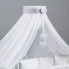 Ciel de lit / moustiquaire bébé + multicolores Décoration + support flèche de lit - Designed by Dreamzzz Handmade