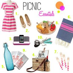 Obsessed With Now: 10 Picnic Essentials