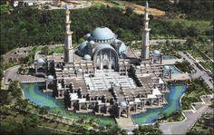 Mosquée Kuala Lumpur, Malaisie_