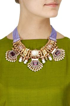 Patiala necklace available only at Pernia's Pop-Up Shop.