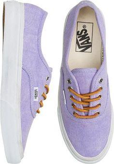 6ad705afc75d Vans Authentic Slim shoe in lavender