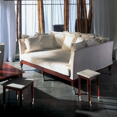 An extremely deep sofa by Philippe Starck   19 Couches That Ensure You'll Never Leave Your Home Again