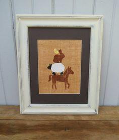 Farm Animal Nursery Decor Prints on Burlap 8x10 by nhayesdesigns, $45.00