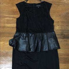 Forever 21 plus size sleeveless dress Size 3x black sleeves dress with skirt Forever 21 Dresses Midi