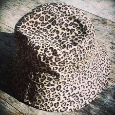 Leopard print bucket hat...take a walk on the wild side! check out  thesaucesuppliers.com for more bucket hat styling 17ec6acd9323