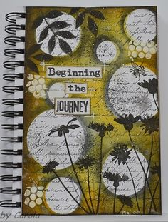 art journal inspiration http://caroskreativewelt.blogspot.de/