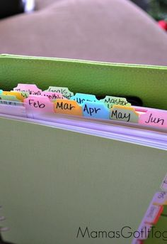 How  to Organize with a Personal Planner