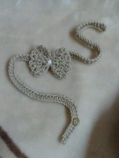 fast and easy only takes 15 min. Materials: cotton yarn, 2 mm crochet hook, button, scissor, needle. abbreviations: ch _ ...