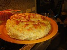 Spansk kartoffel tortilla fx bruges i spansk tapas 4