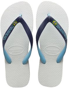 Brazil Mix Sandals in White by Havaianas