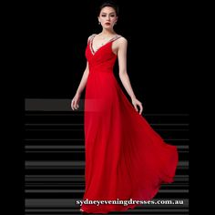 Floor Length Light Weight Chiffon Red Homecoming Dress with Shiny Beading Straps Cocktail Dresses Australia, Evening Dresses Australia, Red Homecoming Dresses, Quinceanera Dresses, Bridesmaid Dresses, Matte Satin, White Chiffon, Formal Evening Dresses, Dress Making
