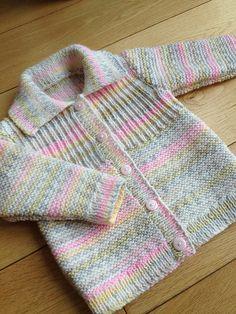 Ravelry: hetty24tigger's Girly rib yoke cardigan